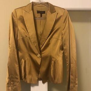 Escada Gold Silk Blazer ⚡️